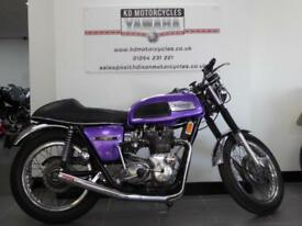 1973 TRIUMPH TRIDENT 150 FULLY RESTORED THOUSANDS SPENT IN INVOICES IMMACULATE