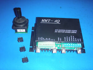 DC MOTOR SPEED CONTROLLER WITH JOYSTICK 100AMP HEAVY DUTY Prince George British Columbia image 1