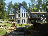 Coe Island Lake - Custom built 4 Season Cottage on 5 Acres
