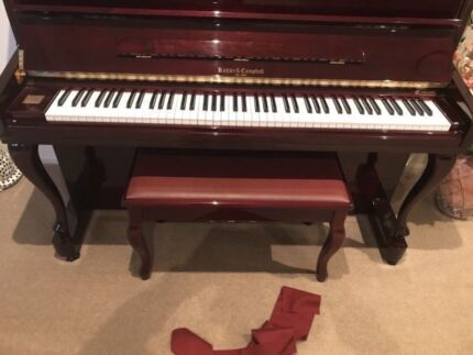 Kohler and Campbell Piano with Chair