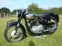 BSA A10 650cc Golden Flash 1961 MOT'd June 2021-See Video