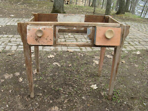 Antique Little Desk That needs Refinishing and a New Top