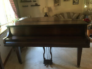 Antique Werlitzer Baby Grand Piano Kitchener / Waterloo Kitchener Area image 2