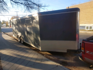 28 foot Enclosed Trailer For Rent