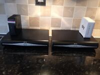 3 sky hd boxes and 2 sky routers for sale