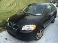 2009 Pontiac G3 Wave Berline**AC+40000 KM **