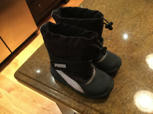 Puma Toddler Size 6 winter Boots - Excellent condition