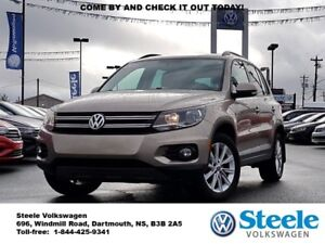 2015 VOLKSWAGEN TIGUAN Comfortline - VW Certified, Trade In