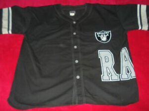 d24e6f5f9be39 Men s Officially Licensed Vintage Raiders Jersey XL