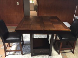 Dining/ bar table solid wood