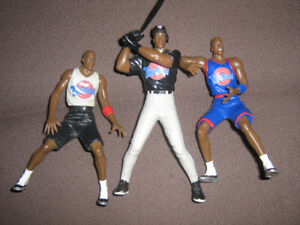 SPACE JAM MICHAEL JORDAN FIGURE LOT