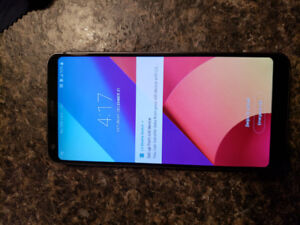 Unlocked Lg G6 excellent condition.