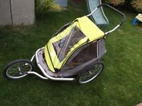 Bike carrier/stroller double MEC Chariot style