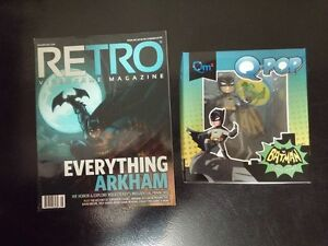Special Batman offer - Get the Q-Pop and receive Retro mag FREE