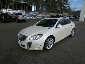 2012 Buick Regal REGAL GS WITH 1SX SPORTS PACKAGE, LOCAL ONE O..