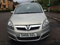 VAUXHALL ZAFIRA 7 SEATER FULL YEARS MOT