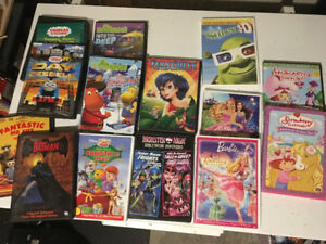 Kids DVD movie lot