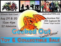 Geeked Out Toy Sale - Kanata