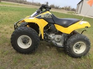 Suzuki lt 80  kids 4 wheeler atv