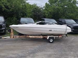 Bowrider Bayliner boat trailer motor 2005 Chevy Equinox all one