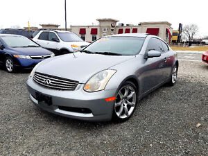 ▀▄▀▄▀▄▀► 2004 INFINITI G35 ★★★ COUPE-LOW KM - $8995 ◄▀▄▀▄▀▄▀