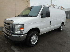 2013 Ford Econoline E-250 Commercial Van - $9000