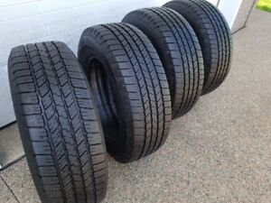 GOODYEAR WRANGLER SR-A 265/65r18 TIRES - EXCELLENT CONDITION