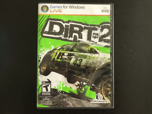 Dirt 2 Car Racing Game for PC/Windows, DVD, Like New