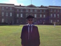 Tutor – GCSE/IGCSE/A-Level/IB. History/English/Politics