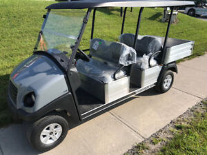 Golf Cart - 2018 Club Car Transporter GAS EFI - FALL BLOWOUT!