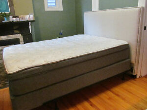 Queen Size Bed and Frame