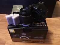 Nikon D5500 Camera and 18‑55mm VR II Lens ‑ Black