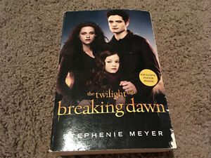 Twilight series- Breaking Dawn