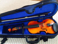Hand Crafted European 1/4 VIOLIN