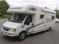 Swift Kon Tiki 645, Sleeps 5, 4 Seat Belts, Habitation Air Con, Recommended,