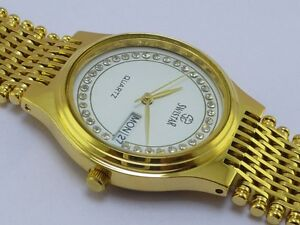 23kt GOLD PLATED LADIES WATCH