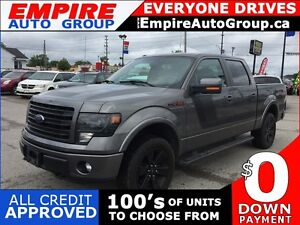 2014 FORD F-150 FX4 * APPEARANCE PACKAGE * 4WD * LEATHER/CLOTH *