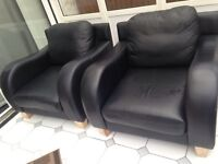 Leather Armchairs (£30 each or 2 for £50)