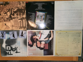 vinyl punk records by various artists