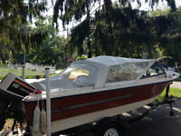 1974 Silverline Hilo 16V O/B (17 ft) with 115 Johnson Outboard