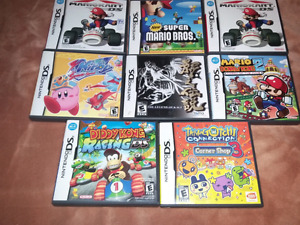 for sale empty video games cases one dollar each.