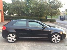 Audi A3 2.0 TDI S Line,HPI CLEAR,1 OWNER,CAMBELT CHANGED FROM AUDI,FULL LEATHER