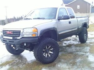 for sale or trade a 2004 GMC 1500 Z71 TRUCK WITH A 6 INCH LIFT