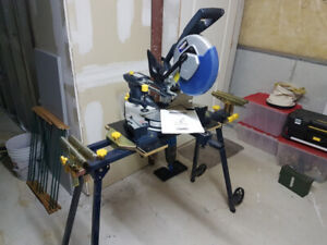 Mastercraft Mitre Saw and Table Saw Lightly Used.