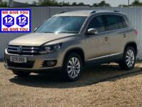 2015 Volkswagen Tiguan MATCH TDI BLUEMOTION TECH 4MOTION DSG SAT NAV Auto Estate