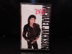 "Michael Jackson ""BAD"" cassette"