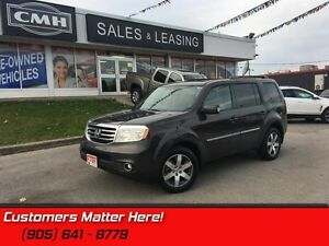 2013 Honda Pilot Touring   4X4, NAVIGATION, SUNROOF, CAMERA, LEA