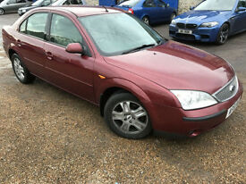 2001 '51' Ford Mondeo 2.0 Ghia AUTO. Petrol. Automatic. Saloon. Px Swap