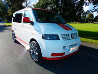 2007 07'reg VW Transporter T5 2.5 TDi Camper*Full Side Conversion*CHOICE OF TWO*