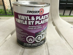 Zinsser Vinyl and Plastic Bonding Primer for paint